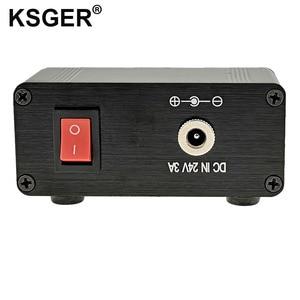 Image 4 - Ksger ミニ T12 はんだステーション diy STM32 V2.0 oled T12 のヒント溶接キット abs プラスチックハンドル亜鉛スタンドクイック加熱