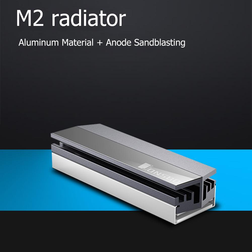 Jonsbo M.2 SSD Heatsink Cooler For M.2 2280 Solid State Hard Disk Drive Radiator All Aluminum Heat Sink M.2 SSD Heatsink Cooler
