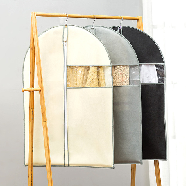 Фото шкаф организации чехол для одежды защиты от пыли бытовые висит цена