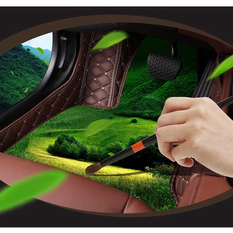 Zhoushenglee Custom รถหนังสำหรับ Luxgen 7 SUV 6 SUV U6 U5 SUV 7MPV Luxgen 5/3 เสื่อเท้า