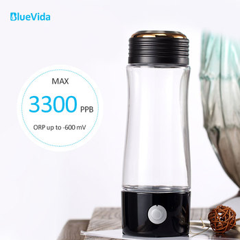 2019 Hot sales Max 3300PPB high concentration hydrogen water generator with Dupont N324 PEM Membrane hydrogen water bottle water management of pem fuel cell stack