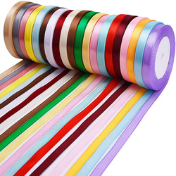 25Yard/Roll Grosgrain Satin Ribbons DIY Wedding Christmas Party Decoration6mm-40mm Bow Craft Card gift tapes flowers accessories
