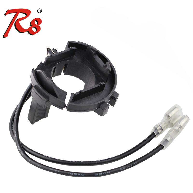 R8 Xenon H7 HID Light Bulb Lamp Car Headlight Bulbs Base Holder Adaptor Adapter For VW Tiguan/Golf 6 7/Scirocco/Sharan/Touran