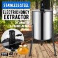 Профессиональная электрическая 4 кадра 110v Нержавеющаясталь Мёд экстрактор Пчеловодство оборудование