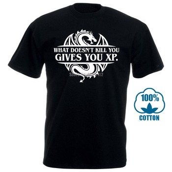 2018 Letters T-Shirt What Doesnt Kill You Gives You Xp Dnd Slaying Dragons In Dungeon T Shirt For Men Trendy Basic S-3Xl you had me at trombone logo men s sweat shirt