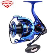 Metal Head Fishing Wheel 9+1 Shaft Spinning Round Line Cup 5.2:1