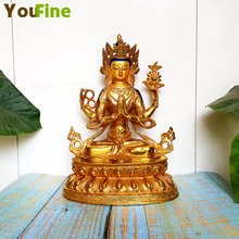 Bronze Buddhist supplies Tibetan Buddha statues gilded offerings can be customized other specifications