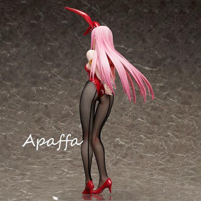 Libérer chérie dans le FranXX zéro deux Ver de lapin. PVC figurine Anime Sexy fille Figure modèle jouets Collection poupée cadeau