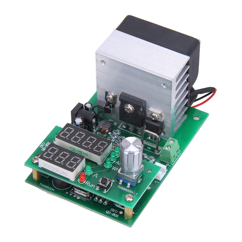 60W Multi-function Constant Current Electronic Load Aging Module 9.99A30V Power Battery Capacity Test