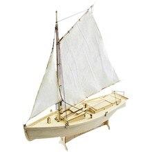 Diy 1:30 montagem kits de construção navio modelo de madeira veleiro brinquedos vela modelo montado kit de madeira