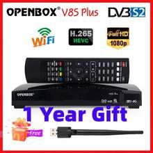 ( 1 Year Gift ) Original Openbox V8S Plus DVB S2 Digital Satellite Receiver S V8 WEBTV Biss Key 2x USB Slot USB Wifi 3G