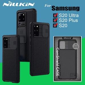 Image 1 - حافظة كاميرا NILLKIN CamShield حافظة لهاتف سامسونج جالاكسي S20 Plus S20 Ultra A51 حافظة حماية للخصوصية حافظة ظهر كلاسيكية
