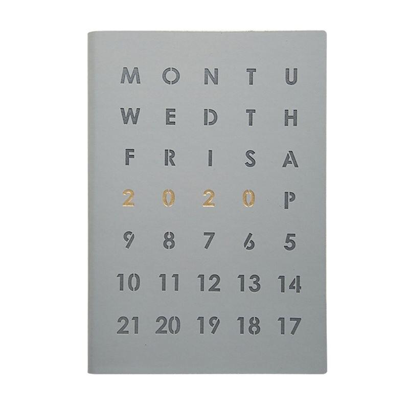 Планировщик, Ежедневник A5, записная книжка, органайзер, мини бизнес блокнот для путешествий - Цвет: GY