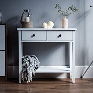 Windsor 2 drawer console table
