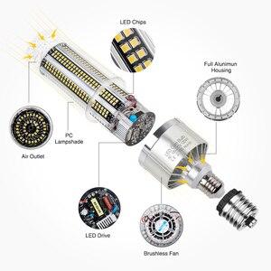 Image 3 - Lâmpada led super brilhante, lâmpada milho e27 25w 200w, lâmpada led 110v 220v ic e39 e40 grande potência para a iluminação do armazém ao ar livre