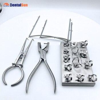 CE Approved Dental Orthodontics Ktis Latex Rubber Dam  Kit 2