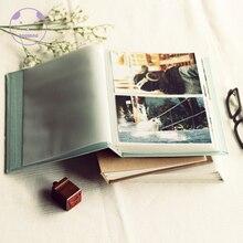ANGWING 120 Pockets Photo Album Book Binder Albums For 6 Inches Holder Album Wedding Scarpbook Cardboard Albums Photo Baby Album