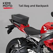 Motorcycle bag Backpack Mini Tail Pack Seat Bag Saddlebag Shoulder Carry Oxford for Honda For Yamaha Kawasaki BMW