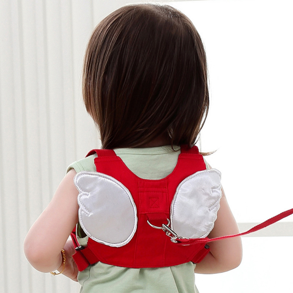 Harnesses & Leashes Anti-lost Child Harness Leash With Angel Wings Baby Walking Assistant Backpack On Leash For 8-20 Months Baby