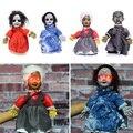 Реквизит для Хэллоуина, кукла-призрак, электрическая ходячая кукла, игрушки с сияющими глазами для ужасов, украшение на Хэллоуин, вечеринку,...