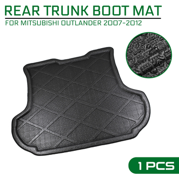 For Mitsubishi Outlander 2007 2008 2009 2010 2011 2012 Car Floor Mat Carpet Rear Trunk Anti-mud Cover image