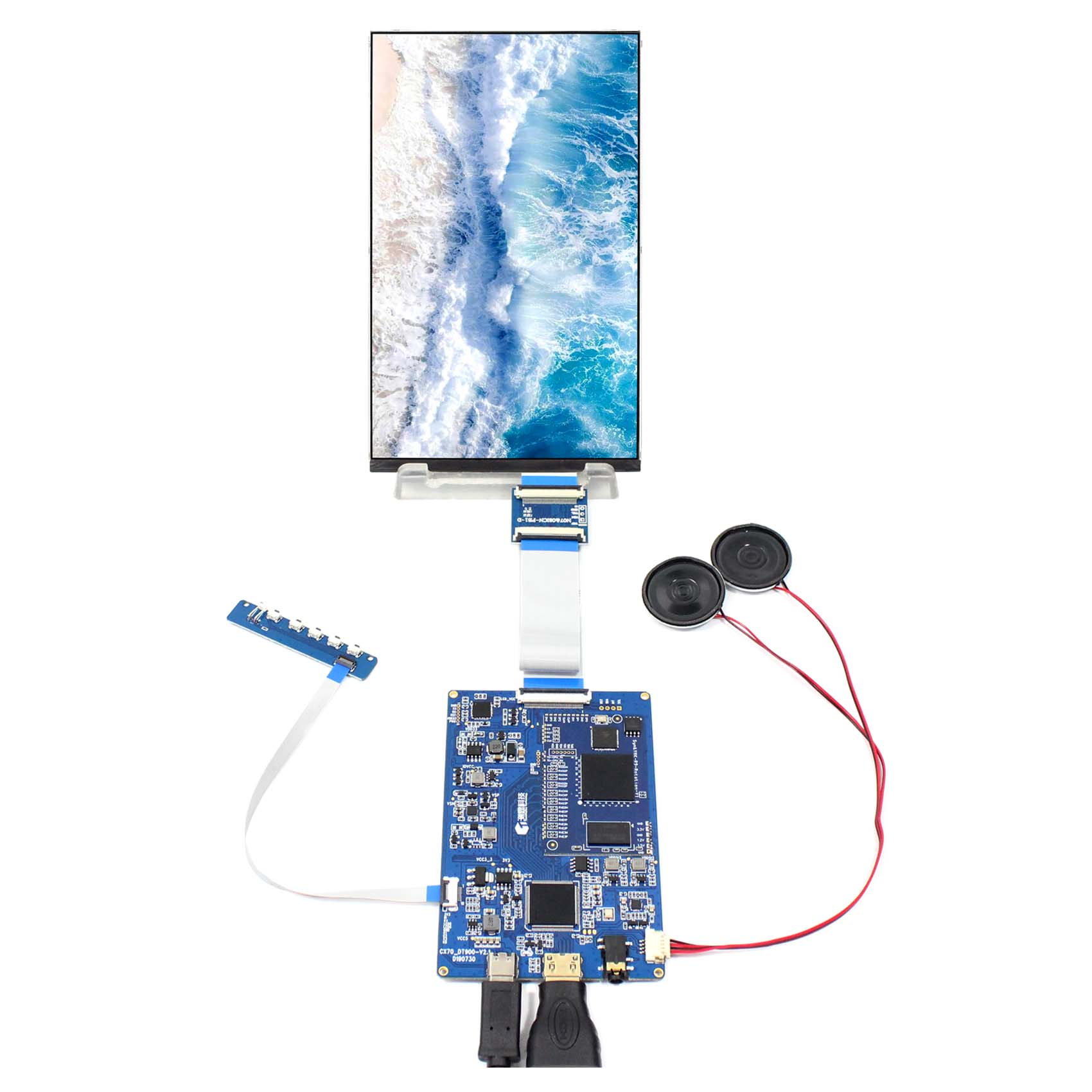 7 inch 1200X1920 LCD Screen 7 inch display HX7002A  with HDMI LCD Controller Board