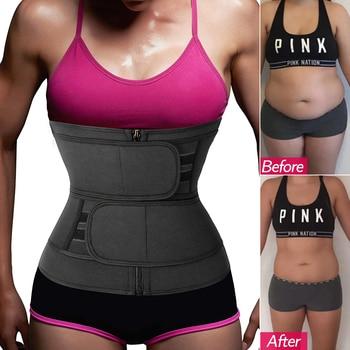 Women Waist Trainer Corset Slimming Body Shaper Weight Loss Fat Burner Sport Girdle Sweat Trimmer Belt Tummy Control Shapewear 1