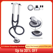 Professional Medical Doctor Stethoscope Heart Lung Cardiology Stethoscope Single Head Stethoscope Medical Equipment Device