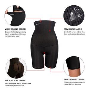 Image 3 - Burvogue גבוהה מותן בטן בקרת תחתוני הרזיה מותניים מאמן מרים התחת Shapewear חלק סקסי תחתוני גוף ומעצב תחתונים