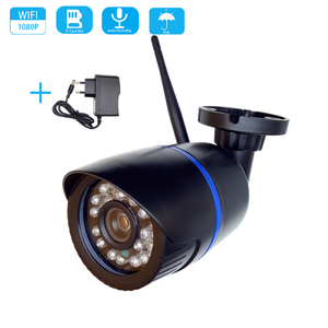Image 1 - WiFi 2MP 1080P Audio HD IP Camera Wireless 720P Indoor Outdoor Waterproof Bullet CCTV Camera Onvif Surveillance Security Camera