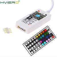 44Key WiFi Remote LED Streifen Licht Controller Stecker Ferne Sensor für Wand Lampe Wireless 12V RGB Beleuchtung Butt Plug 4 Pins