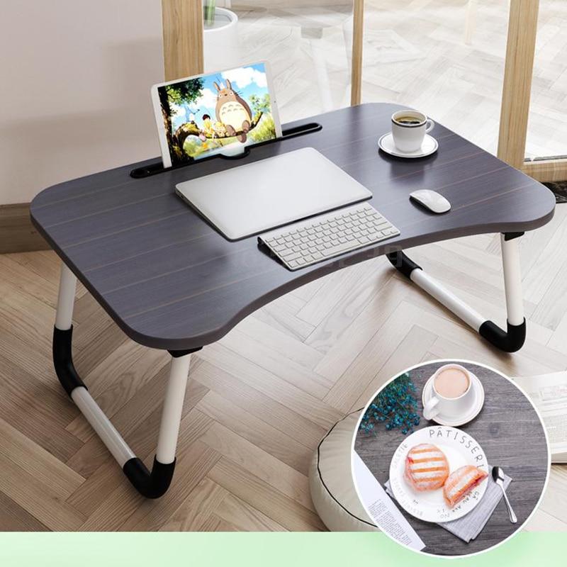 Lazy People Laptop Table Student Notebook Stand Multifunction Height Adjustable Lapdesk Bed Computer Desk Folding Tilt Adjust