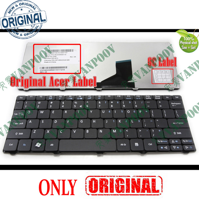 New US Keyboard for Acer Aspire One 521 522 533 D255 D255E D257 D260 D270 NAV70 PAV01 PAV70 ZH9 AO521 AO522 AO533 AOD255 AOD255E