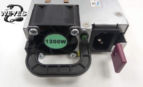 490594-001 438203-001 498152-001 for DL580G6 G7 1200W PSU Power Supply Server 1