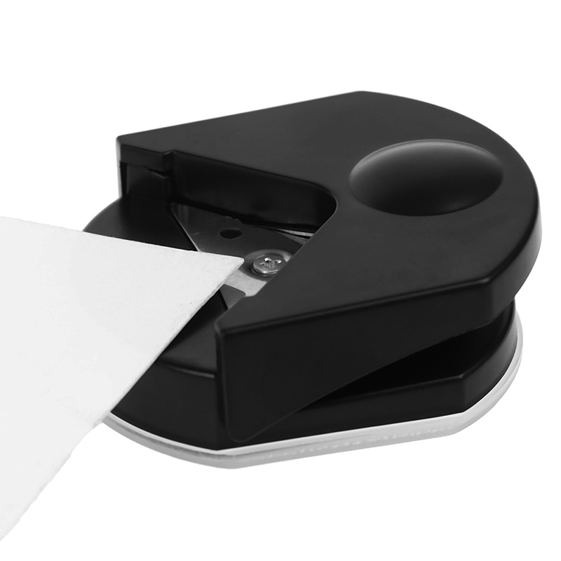 1PC 4R Premium Corner Rounder Punch 4mm Black Paper Card Photo Cutter Tool Craft