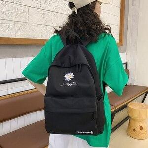 Image 5 - Moda dayanıklı kızlar okul sırt çantası yüksek kaliteli su geçirmez naylon okul çantası güzel tarzı Schoolbag kitap sırt çantası genç için