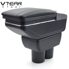 Vtear for Suzuki Jimny armrest box central Store content box products interior Armrest Storage car-styling accessories part