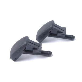 2pcs/set Windshield Water Spray Wiper Nozzle Washer Universal Car Black Nozzle for BMW E36 Z3 Vehicle Auto Parts Car Accessories image