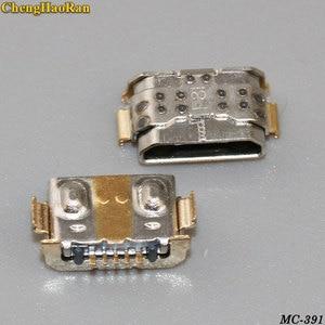 Image 1 - 100PCS micro usb jack socket connector poort opladen dock voor Huawei P9 Jeugd versie LITE G9 VNS TL00 VNS DL00 opladen socket
