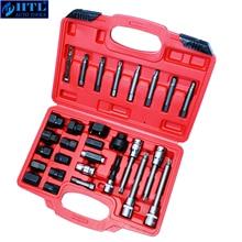 30pcs Alternator Freewheel Pulley Puller Alternators Tool Set Special Socket Set