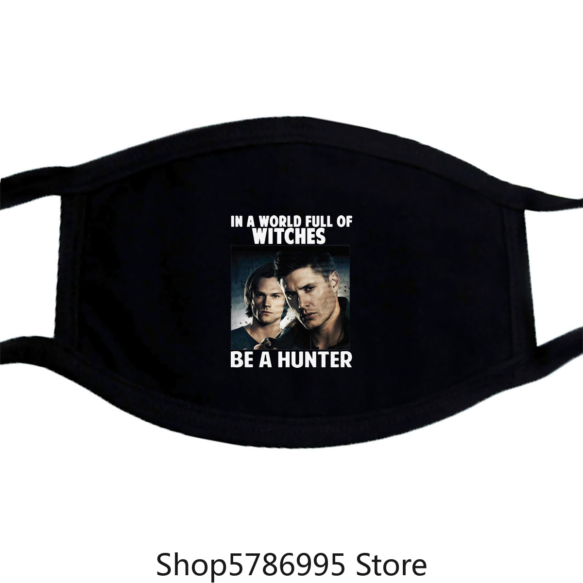 In A World Full Of Witches Be A Hunter Supernatural Mask