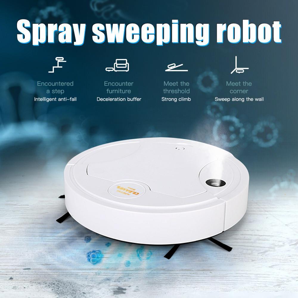 Multifunctional Smart Floor Cleaner 5-In-1 Auto Rechargeable Smart Sweeping Robot Dry Wet Sweeping Vacuum Cleaner