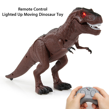 Infrared Remote Control Dinosaur Trick Kid Toy RC Electronic Pet Animal Triceratop Baby Scary Crocodile Robot Mini Frog Scorpion