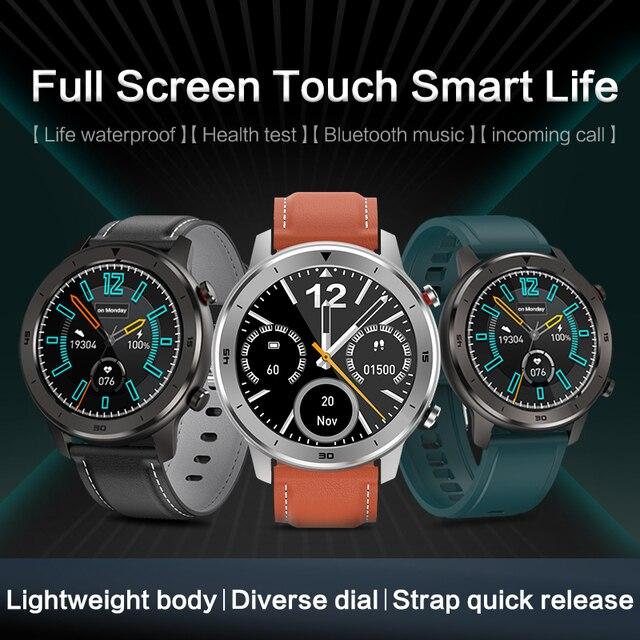 KSR914 Smart Watch Fitness Tracker Men Women Wearable Devices Smart Band Heart Rate Monitor ECG Detection  Smart Bracelet