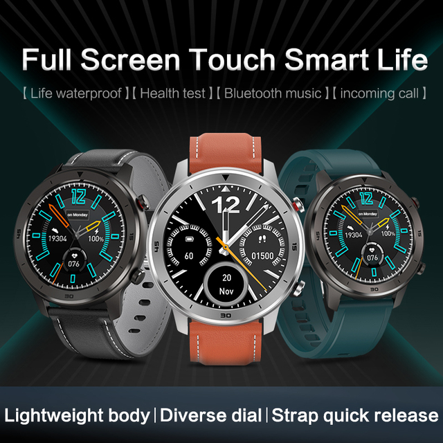 KSR914 חכם שעון גשש כושר גברים נשים Smartwatch לביש התקני חכם להקת קצב לב לפקח ECG זיהוי חכם בראק