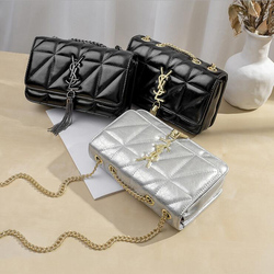 DAI.MM Hot Women Messenger Bags 2019new High Quality PU Leather Famous Brands Design Women Bag Luxury Classical Women Handbags