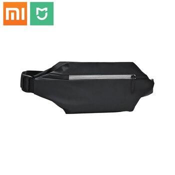Nuevo Original Xiaomi mijia multifuncional impermeable deportes y ocio pecho bolsa Simple deporte al aire libre 2.25L riñonera negro