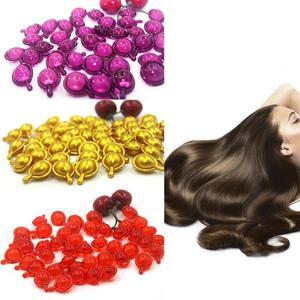 5pcs Complex Oil Smooth Silky Hair Mask Repair Damaged Vitamin Hair Capsule Treatment Pro Keratin Hair Serum Moroccan Oil