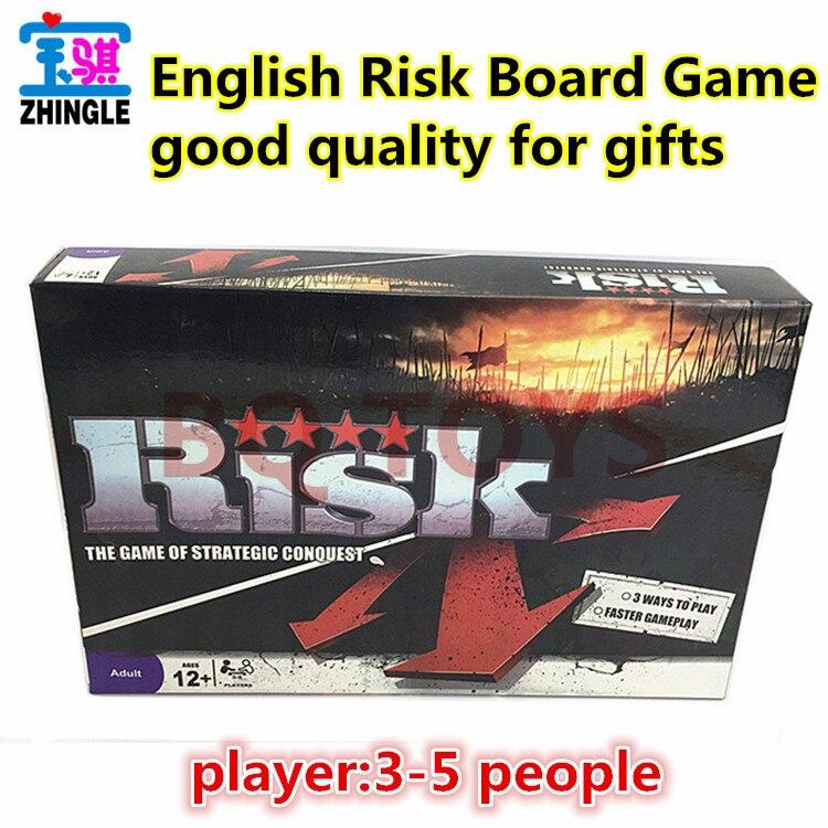 English RISK Board Card Game English RISK Big Battle Game ...