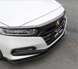 3pcs/Set ABS Front Bumper Lip For Honda Accord 2018 2019 2020